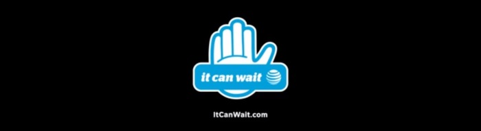#ItCanWait – some distractions are good, others can cost lives!